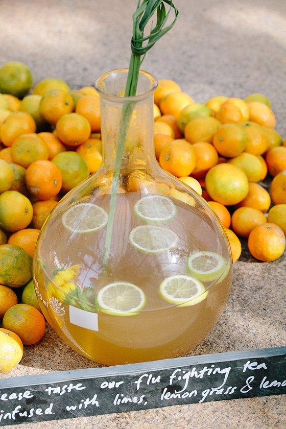 Gundula's flu fighting citrus tea