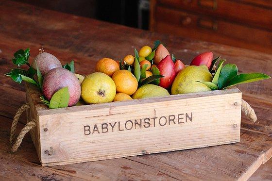 Fresh fruit from Babylonstoren