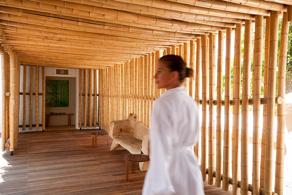 Bamboo Treatment at the Babylonstoren Garden Spa