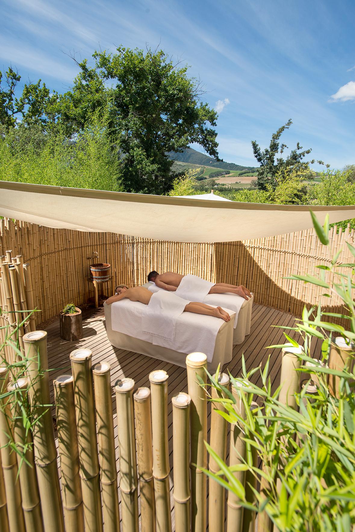 Massage Treatment at the Babylosntoren Garden Spa