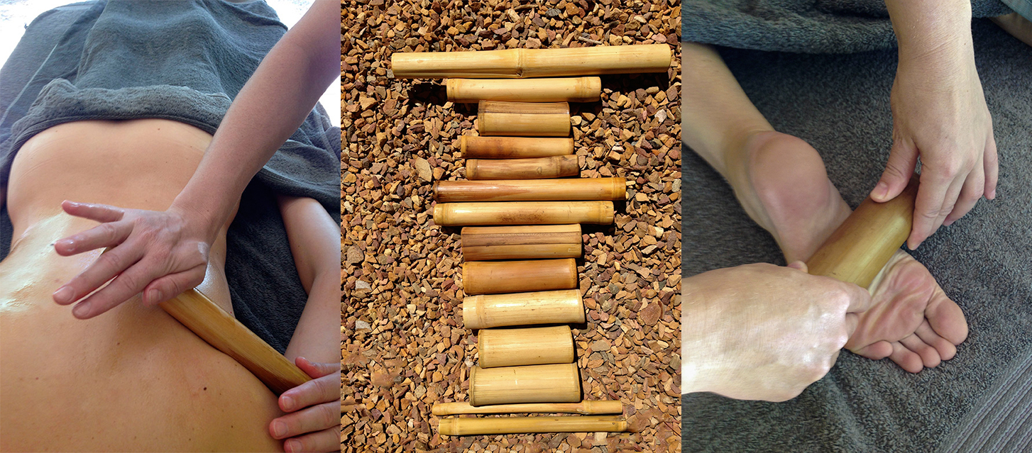 More pictures of the Bamboo Treatment at the Babylonstoren Garden Spa