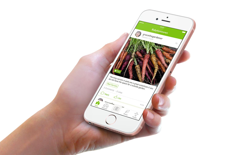 Gardening with Babylonstoren App