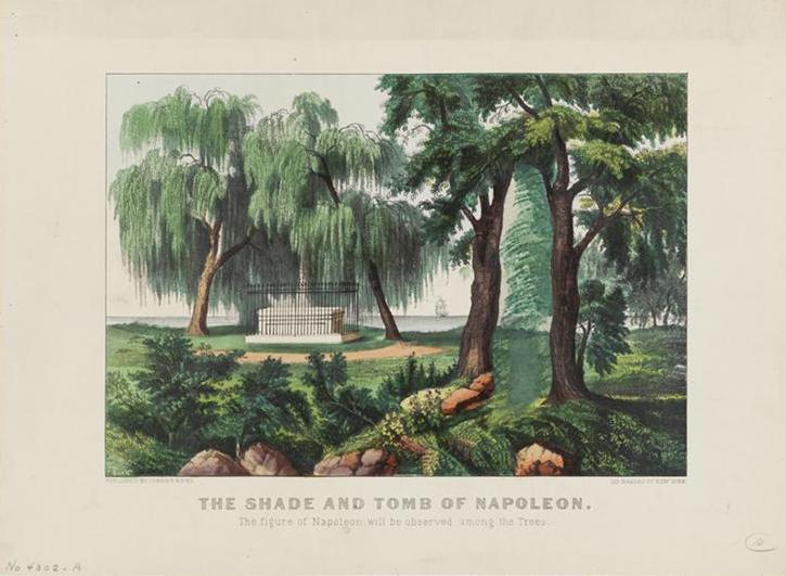 Napoleons grave saint helena