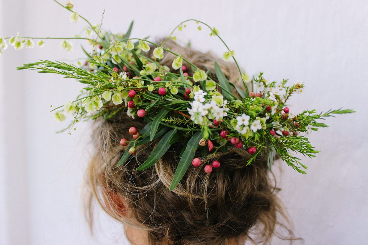 Be queen or king of your garden – make a flower crown for Garden Day