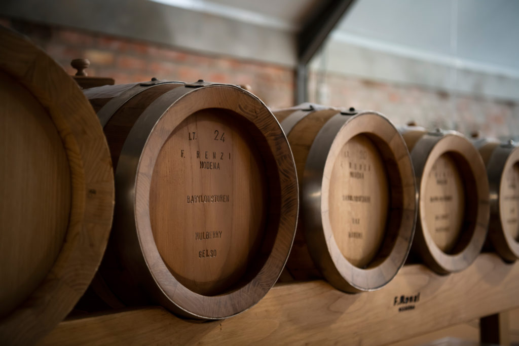 Barrels used at Babylonstoren for Balsamic Vinegar